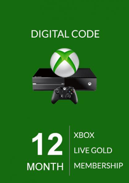 Xbox Live Gold 12 Mėnesių Prenumerata (Global)