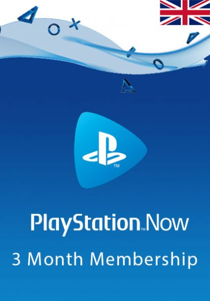 UK PlayStation Now 3-Month Subscription