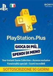 PSN Plus 3 Mėnesių Prenumerata (Italija)