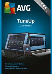 AVG PC TuneUp Unlimited 2018 (1 Vartotojas - 2 metų)