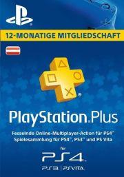 PSN Plus 12 Mėnesių Prenumerata (Austrija)