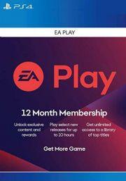 EA Play 12 Mėnesio Prenumerata [PS4 JAV]
