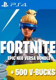 Fortnite Epic Neo Versa Bundle + 500 V-Bucks [PS4 JAV]
