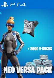 Fortnite Epic Neo Versa Bundle + 2000 V-Bucks [PS4 JAV]