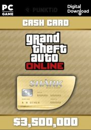 GTA V Online Cash Card: Whale Shark 3,500,000$ [PC]