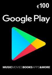 Google Play 100 EUR Dovanų Kortelė