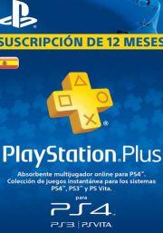 PSN Plus 12 Mėnesių Prenumerata (Ispanija)
