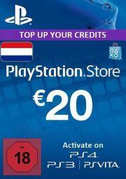 Nyderlandai PSN 20 EUR Dovanų Kortelė