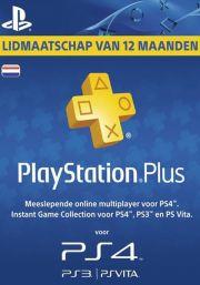 PSN Plus 12 Mėnesių Prenumerata (Nyderlandai)