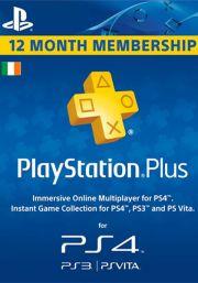 PSN Plus 12 Mėnesių Prenumerata (Airija)