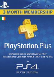PSN Plus 3 Mėnesių Prenumerata (Airija)