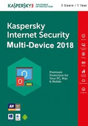 Kaspersky Internet Security Multi-Device 2018 (3 Users , 1 Year)