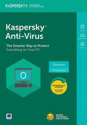 Kaspersky Anti-Virus 2021 (3 Vartotojas - 1 metų)