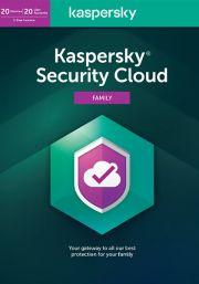 Kaspersky Security Cloud (20 vartotojų - 1 metų)
