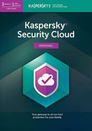 Kaspersky Security Cloud (3 vartotojų - 1 metų)