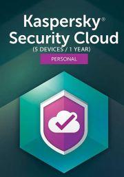 Kaspersky Security Cloud (5 vartotojų - 1 metų)