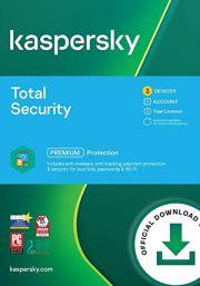 Kaspersky Total Security 2021 (3 vartotojų - 1 metų)
