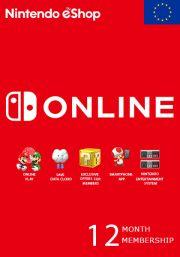 EU Nintendo 12 Mėnesių Prenumerata