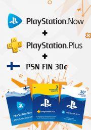 Suomiškas PSN 3 Mėnesių Rinkinys