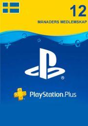 PSN Plus 12 Mėnesių Prenumerata (Švedija)
