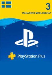 PSN Plus 3 Mėnesių Prenumerata (Švedija)