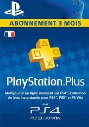 PSN Plus 3 Mėnesių Prenumerata (Prancūzija)