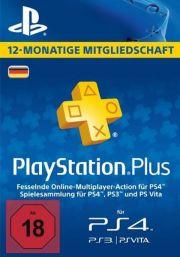PSN Plus 12 Mėnesių Prenumerata (Vokietija)