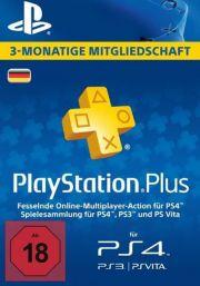 PSN Plus 3 Mėnesių Prenumerata (Vokietija)