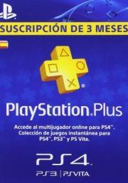 PSN Plus 3 Mėnesių Prenumerata (Ispanija)