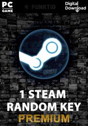 Steam Random Key Premium (PC)