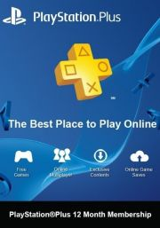 PSN Plus 12 Mėnesių Prenumerata (Šveicarija)