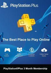 PSN Plus 3 Mėnesių Prenumerata (Šveicarija)