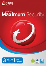 Trend Micro Maximum Security 2016 (3 users-1 year)