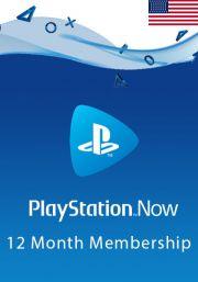 JAV PlayStation Now 12 Mėnesių Prenumerata