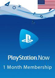 JAV PlayStation Now 1 Mėnesių Prenumerata