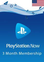 JAV PlayStation Now 3 Mėnesių Prenumerata
