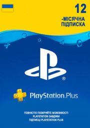 Ukraina PSN Plus 12 Mėnesių Prenumerata
