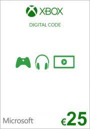 ES Xbox 25€ Dovanų Kortelė (Xbox One & 360)