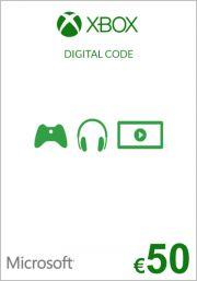 ES Xbox 50€ Dovanų Kortelė