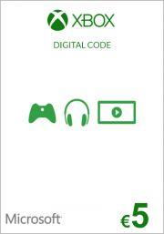 ES Xbox 5€ Dovanų Kortelė (Xbox One & 360)