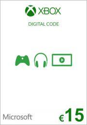 EU Xbox 15 Euro Gift Card (Xbox One & 360)