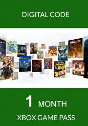 Xbox Game Pass 1 Mėnesio Prenumerata