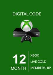 Xbox Live 12 Month Gold Membership (Xbox One & 360)