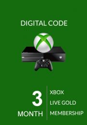 Xbox Live 3 Month Gold Membership (Xbox One & 360)
