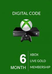 Xbox Live Gold 6 Mėnesių Prenumerata (Global)