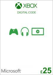 JK Xbox £25 Dovanų Kortelė