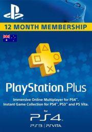PSN Plus 12 Mėnesių Prenumerata (Australija)