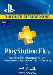 PSN Plus 3 Mėnesių Prenumerata (Australija)