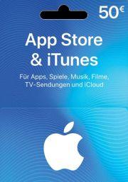 iTunes Vokietija 50 EUR Dovanų Kortelė