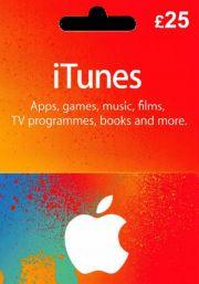 iTunes JK 25 GBP Dovanų Kortelė